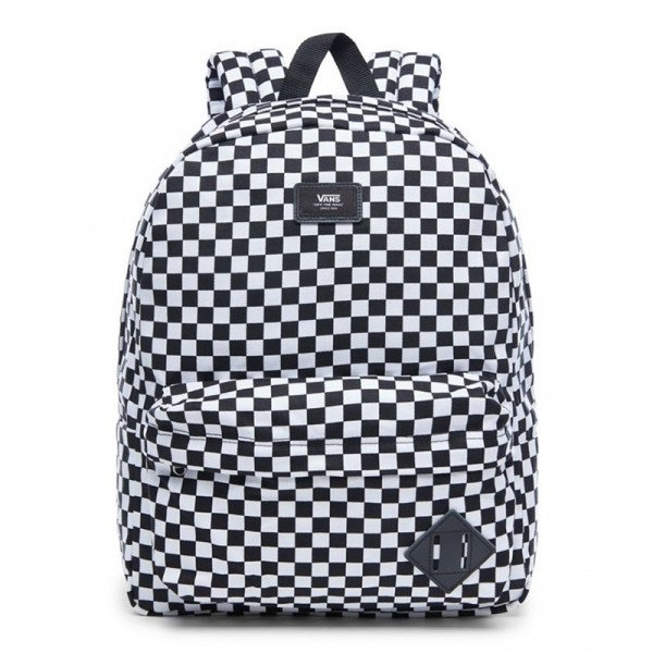 VANS SOMA OLD SKOOL II BACKPACK BLACK WHITE CHECK S19