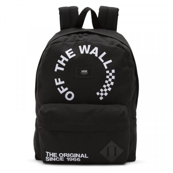 VANS SOMA OLD SKOOL II BACKPACK BLACK WHITE S19