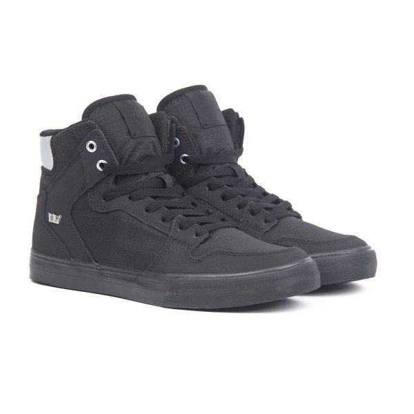 SUPRA SHOES VAIDER BLACK CHROME BLACK S19