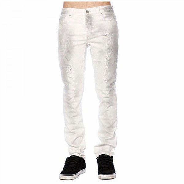 KR3W PANTS JIM WHITE DESTROYED WHITE SP11