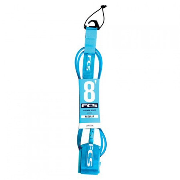 FCS 8' REGULAR LEASH 7 MM TEAL