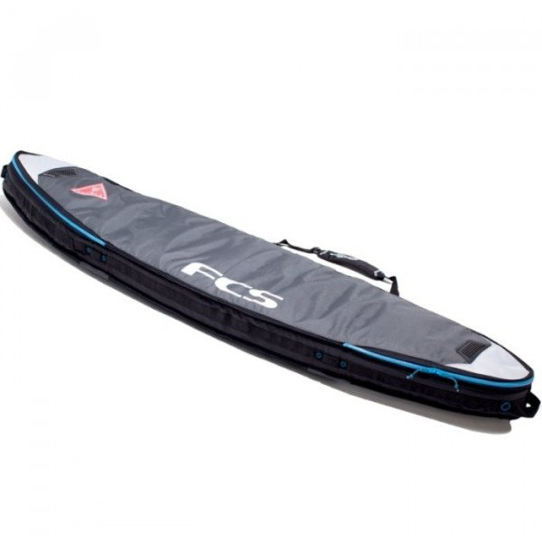 FCS ČEHOLS DOUBLE TRAVEL COVER SHORT BOARD 6'3'' GREY