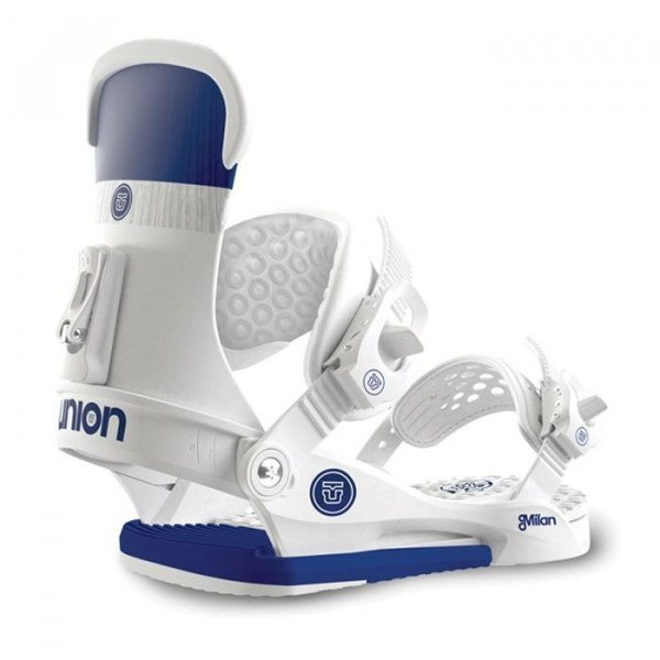 UNION BINDINGS MILAN WHITE W15