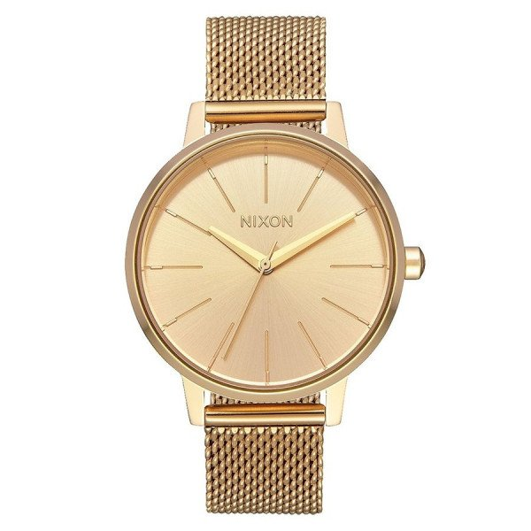 NIXON PULKSTENIS KENSINGTON MILANESE ALL GOLD