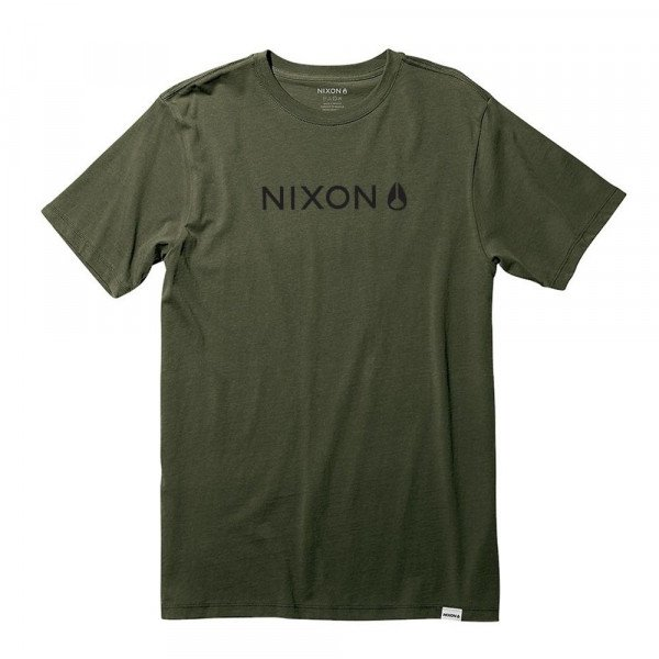 NIXON T-SHIRT BASIS II S/S TEE SURPLUS S20