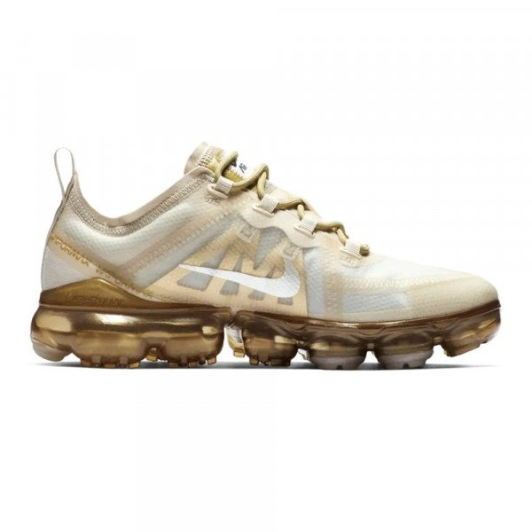 NIKE SHOES AIR VAPORMAX 2019 W WHITE WHITE METALLIC GOLD S19