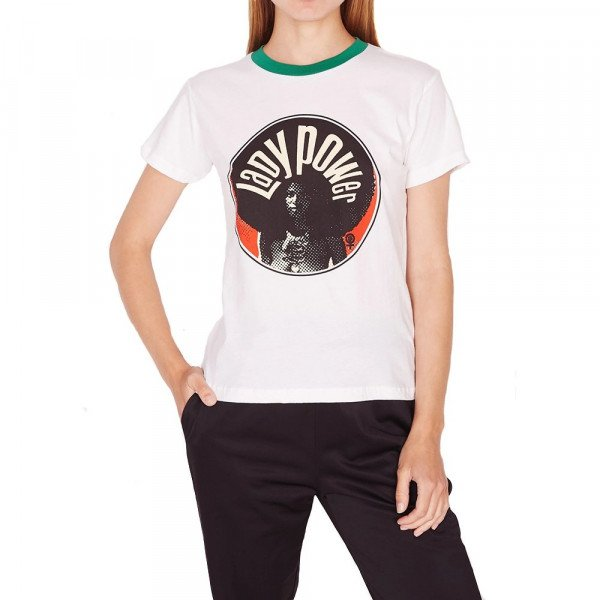 OBEY T-SHIRT LADY POWER CIRCLE CRL S19