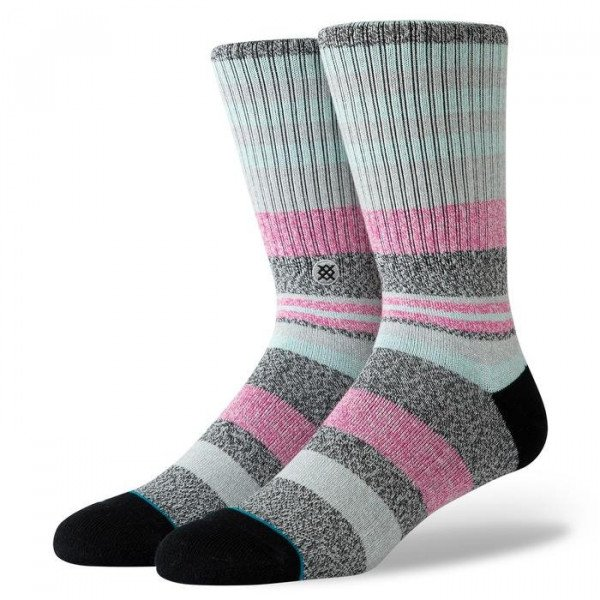 STANCE SOCKS BLUE FOUNDATION MUNGA BLACK