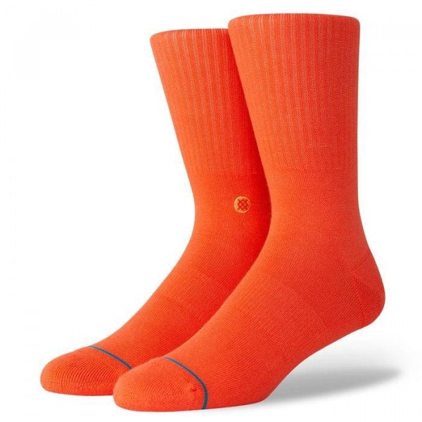 STANCE ZEĶES UNCOMMON SOLIDS ICON ROYAL RED