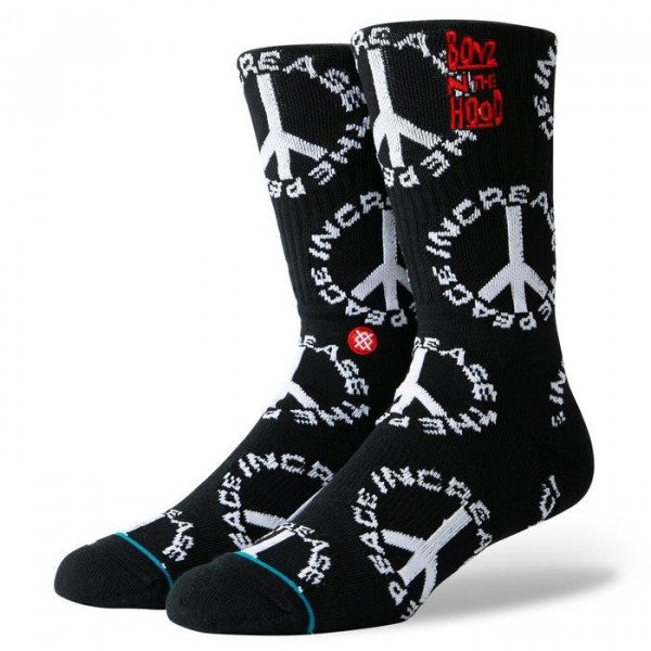 STANCE ZEĶES ANTHEM INCREASE THE PEACE BLACK