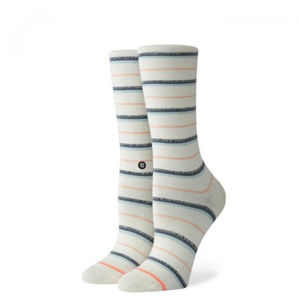 STANCE ZEĶES FOUNDATION WOMEN SNAZZY OFF WHITE