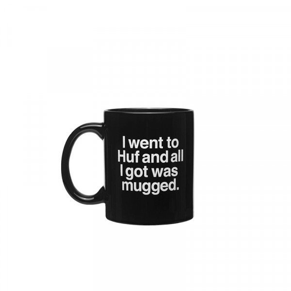 HUF MUG MUGGED BLACK