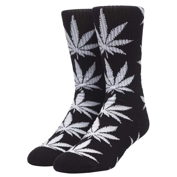 HUF ZEĶES ESSENTIALS PLANTLIFE BLACK F19