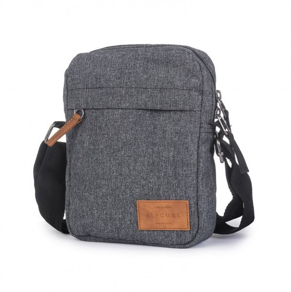 RIP CURL SOMA NO IDEA POUCH SOLEAD CHARCOAL GREY
