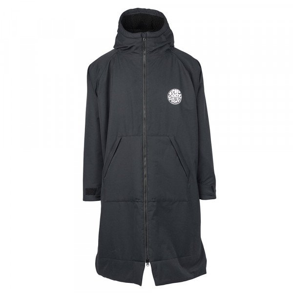 RIP CURL APMETNIS WINTER SURF PONCHO BLACK