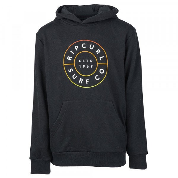 RIP CURL HOOD NEON DONUT HOODED KIDS BLACK S19
