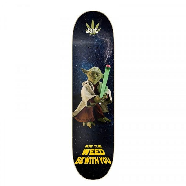 JART KLĀJS WEED NATION YODA 8 DECK