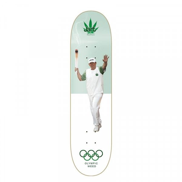 JART KLĀJS WEED NATION OLYMPIC WEED 8.25 DECK