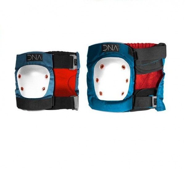DNA AIZSARGI KNEE & ELBOW KIDS PACK BLUE