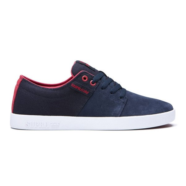 SUPRA APAVI STACKS II NAVY ROSE WHITE S19