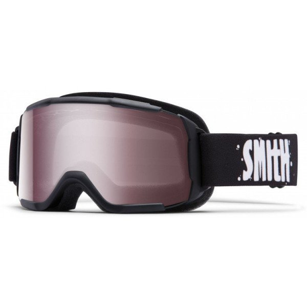 SMITH GOGGLE DAREDEVIL BLACK IGNITOR MIRROR W18