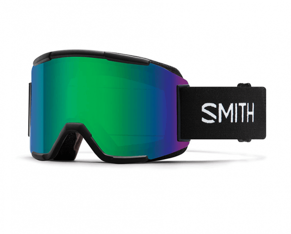 SMITH BRILLES SQUAD BLACK CP ED GREEN MIRROR W19
