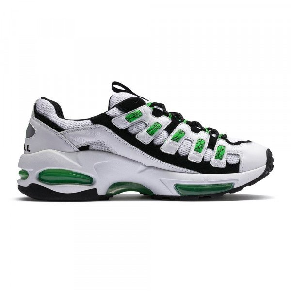PUMA SHOES CELL ENDURA PUMA WHITE CLASSIC GREEN S19