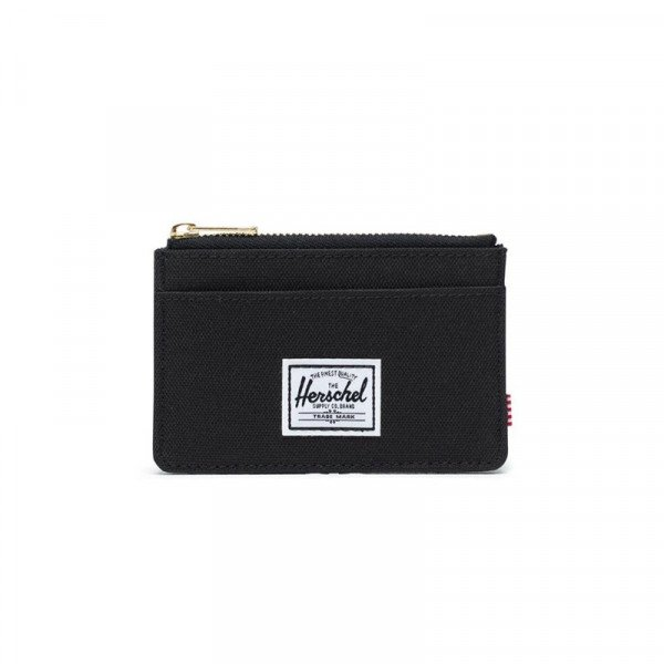 HERCHEL WALLET OSCAR POLY BLACK S19
