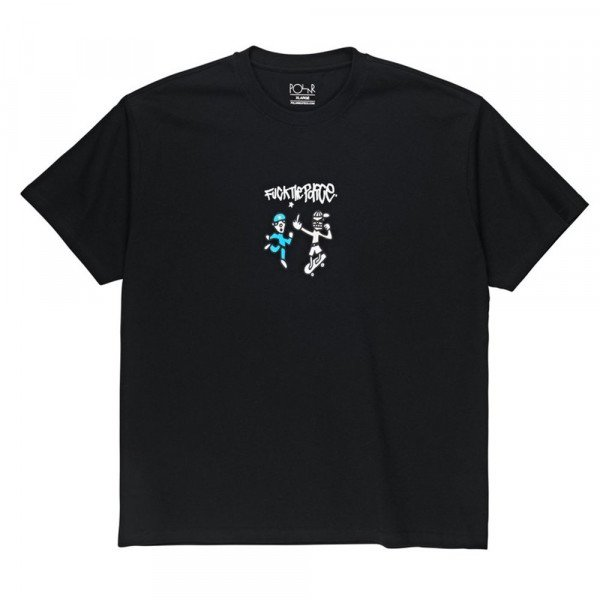 POLAR T-SHIRT FTP TEE BLACK S19