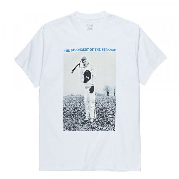 POLAR T-SHIRT THE STRONGEST OF THE STRANGE TEE WHITE S19