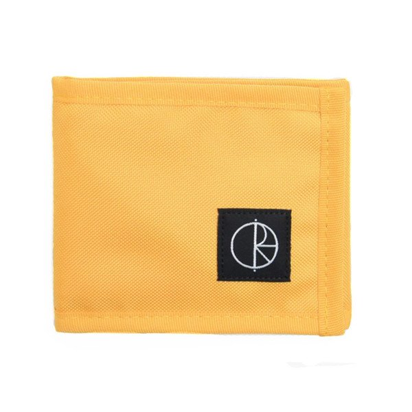 POLAR MAKS CORDURA WALLET YELLOW S19