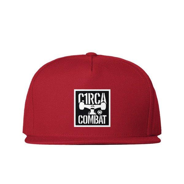 CIRCA CEPURE COMBAT SNAPBACK RED S19