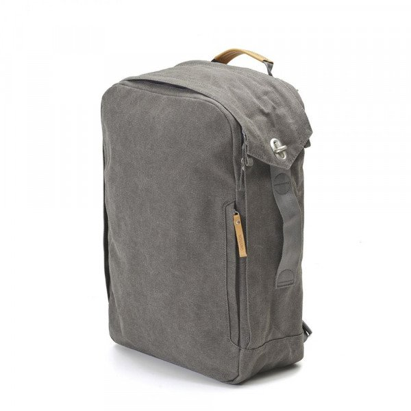 QWSTION SOMA BACKPACK ORGANIC WASHED GREY S19