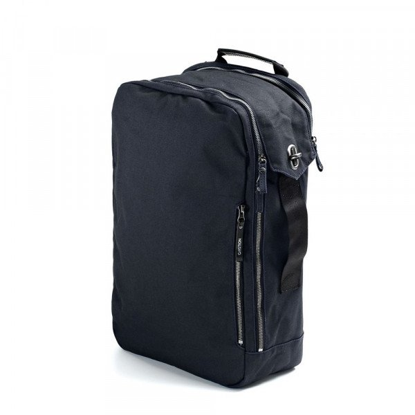 QWSTION SOMA BACKPACK ORGANIC MIDNIGHT BLUE