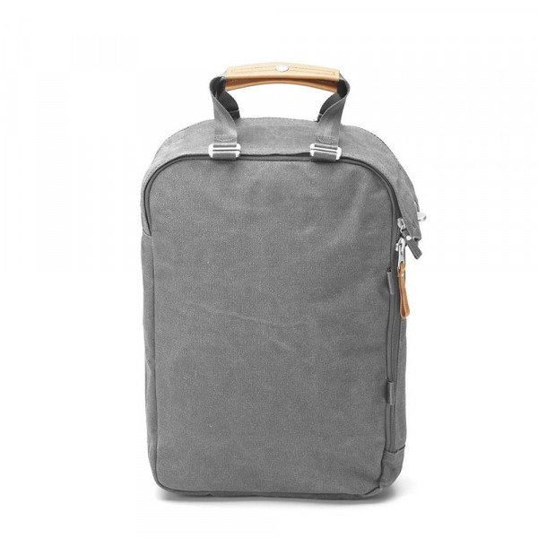 QWSTION SOMA DAYPACK ORGANIC WASHED GREY S19