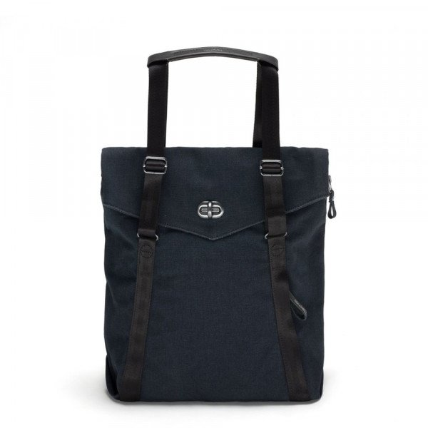 QWSTION SOMA TOTE ORGANIC MIDNIGHT BLUE S19