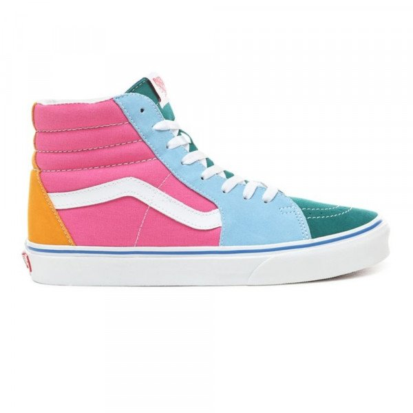 VANS SHOES SK8-HI (SUEDE CANVAS) MULTI BRIGHT S19