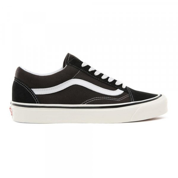 VANS SHOES OLD SKOOL 36 DX (ANAHEIM FACTORY) BLACK TRUE WHITE S19