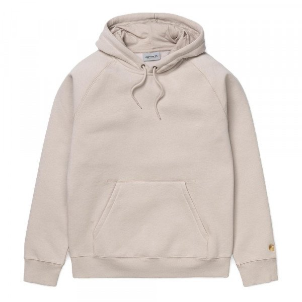 CARHARTT HOOD HOODED CHASE SWEAT BOULDER GOLD S19