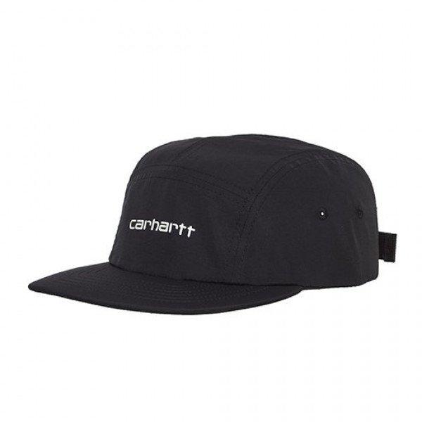 CARHARTT WIP CEPURE COACH SCRIPT CAP BLACK S19