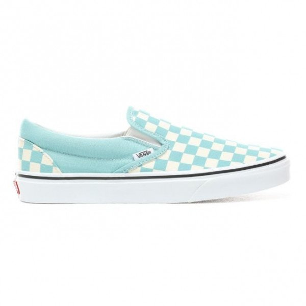 VANS APAVI CLASSIC SLIP-ON (CHECKERBOARD) AQUA HAZE S19