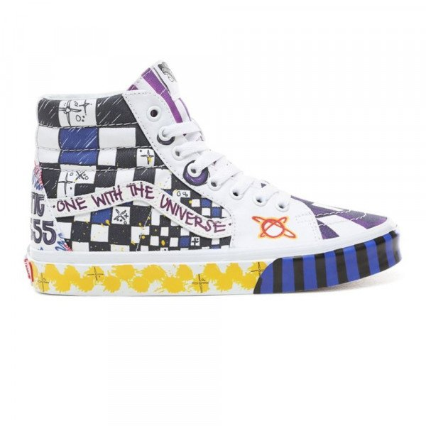 VANS SHOES SK8-HI (GALACTIC GODDESS) TRUE WHITE MULTI S19