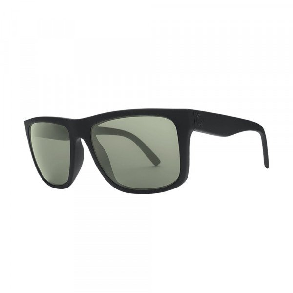 ELECTRIC SUNGLASSES SWINGARM XL MATTE BLACK/OHM GREY