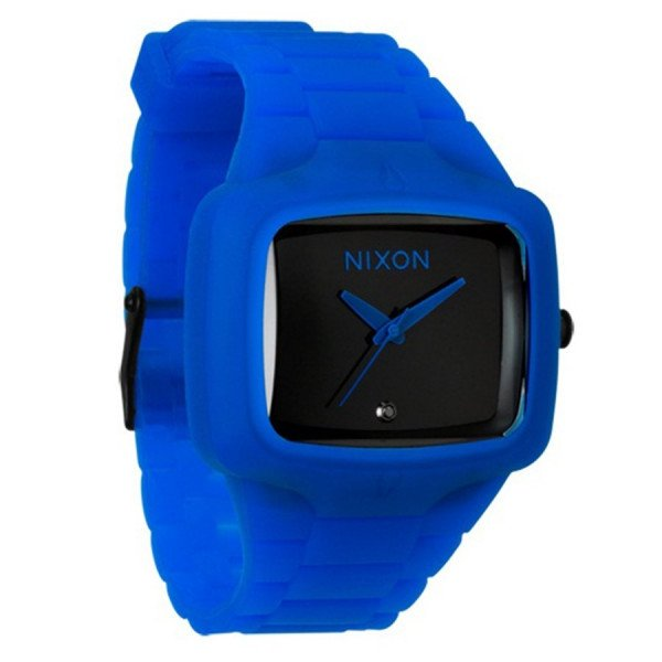 NIXON WATCH RUBBER PLAYER ROYAL