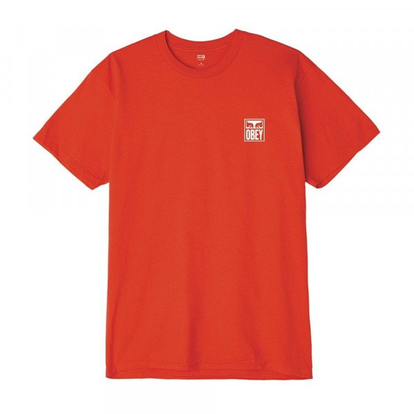 OBEY T-SHIRT OBEY EYES ICON RED S19