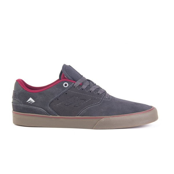 EMERICA APAVI REYNOLDS LOW VULC DARK GREY GREY RED S19
