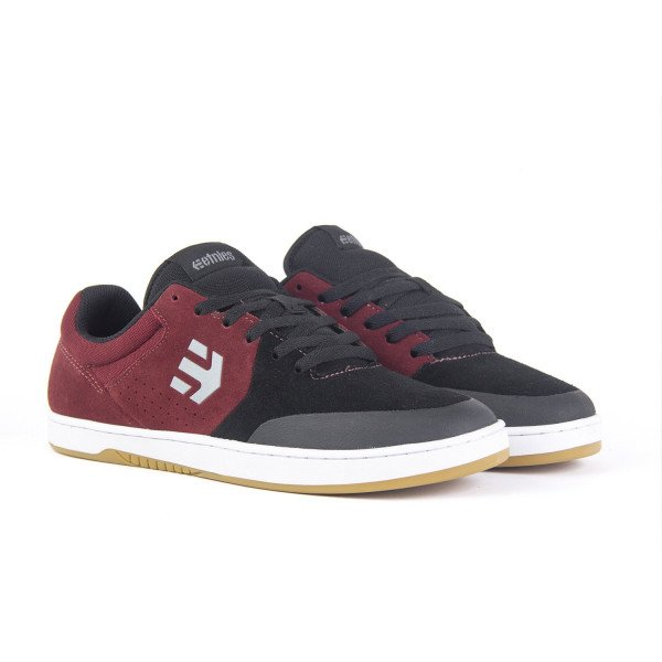ETNIES SHOES MARANA BLACK DARK GREY RED S19