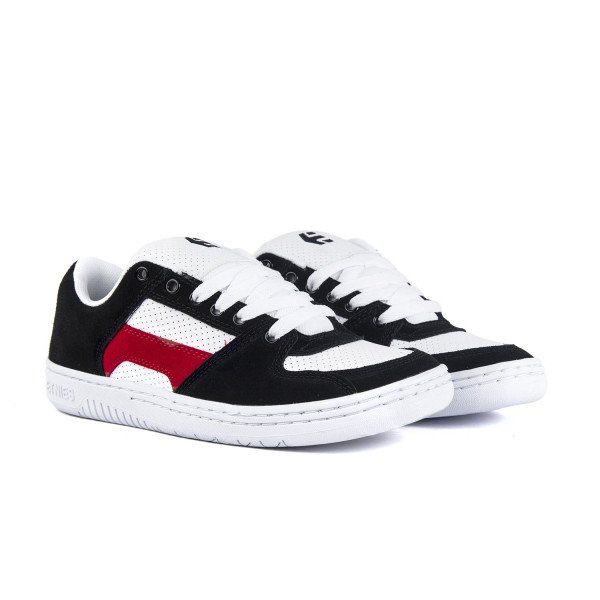 ETNIES APAVI SENIX LO BLACK WHITE RED S19