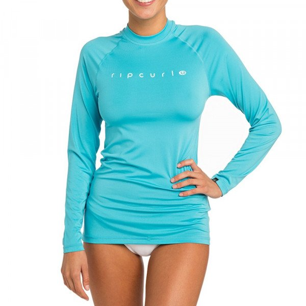 RIP CURL LIKRA SUNNY RAYS RELAXED L/SL LIGHT BLUE S19