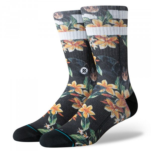 STANCE SOCKS BLUE FOUNDATION NANKULUI BLACK